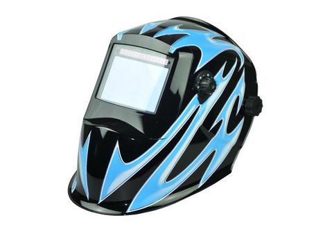 Auto-darkening welding helmet